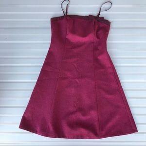 Like NEW!! Betsey Johnson Wool Bow Pink Dress, S